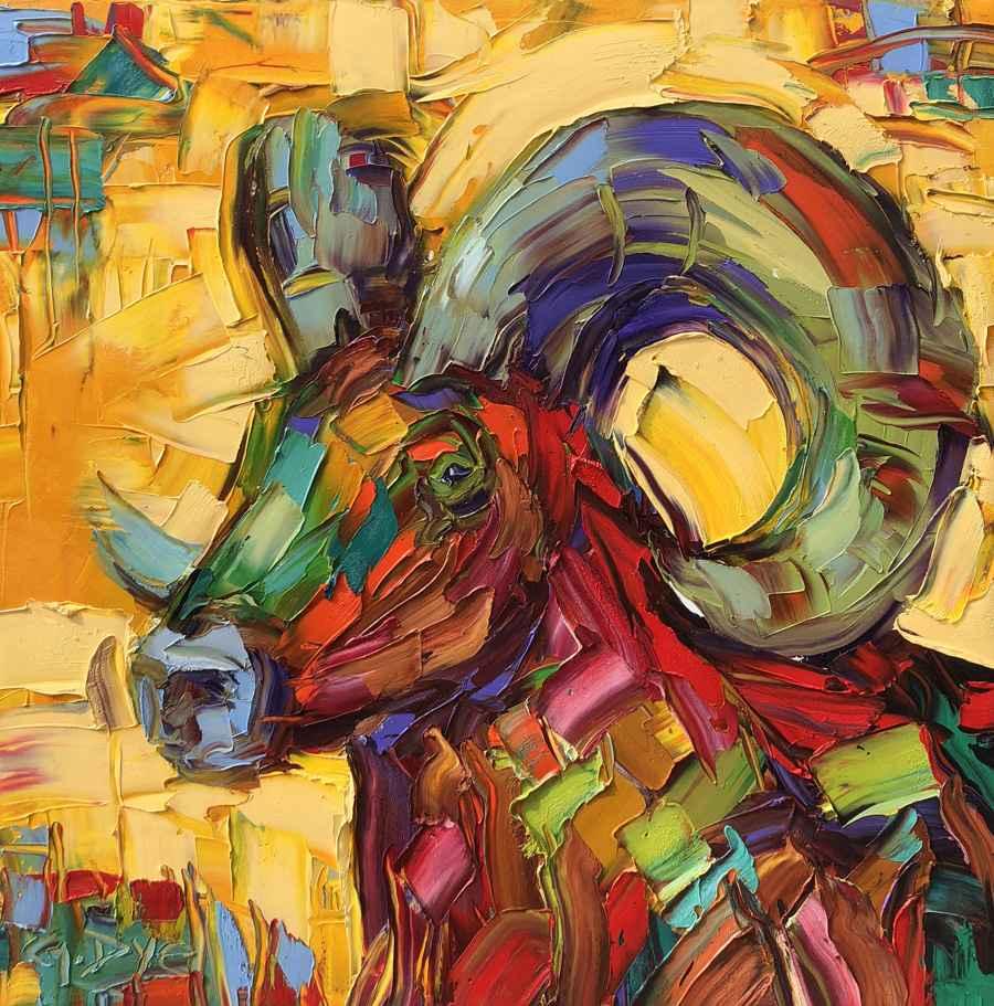 Ram Head by  Greg Dye - Masterpiece Online