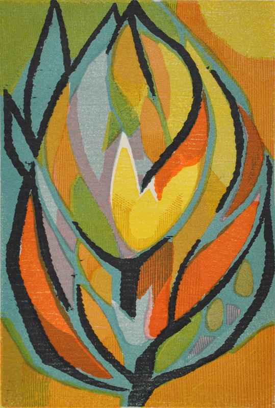 Burning Bush by  Bernard Brussel-Smith (1914-1989) - Masterpiece Online