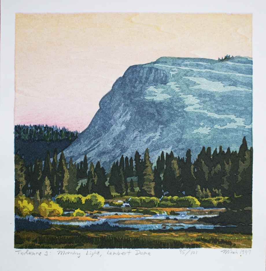 Tuolumme I: Morning L... by  Micah Schwaberow - Masterpiece Online