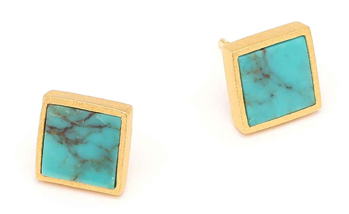Planos Stud Earrings by  Bernd Wolf - Masterpiece Online