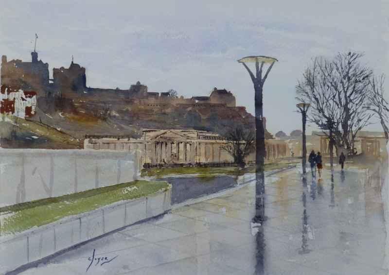 Castle Skyline, The M... by  Colin Joyce - Masterpiece Online