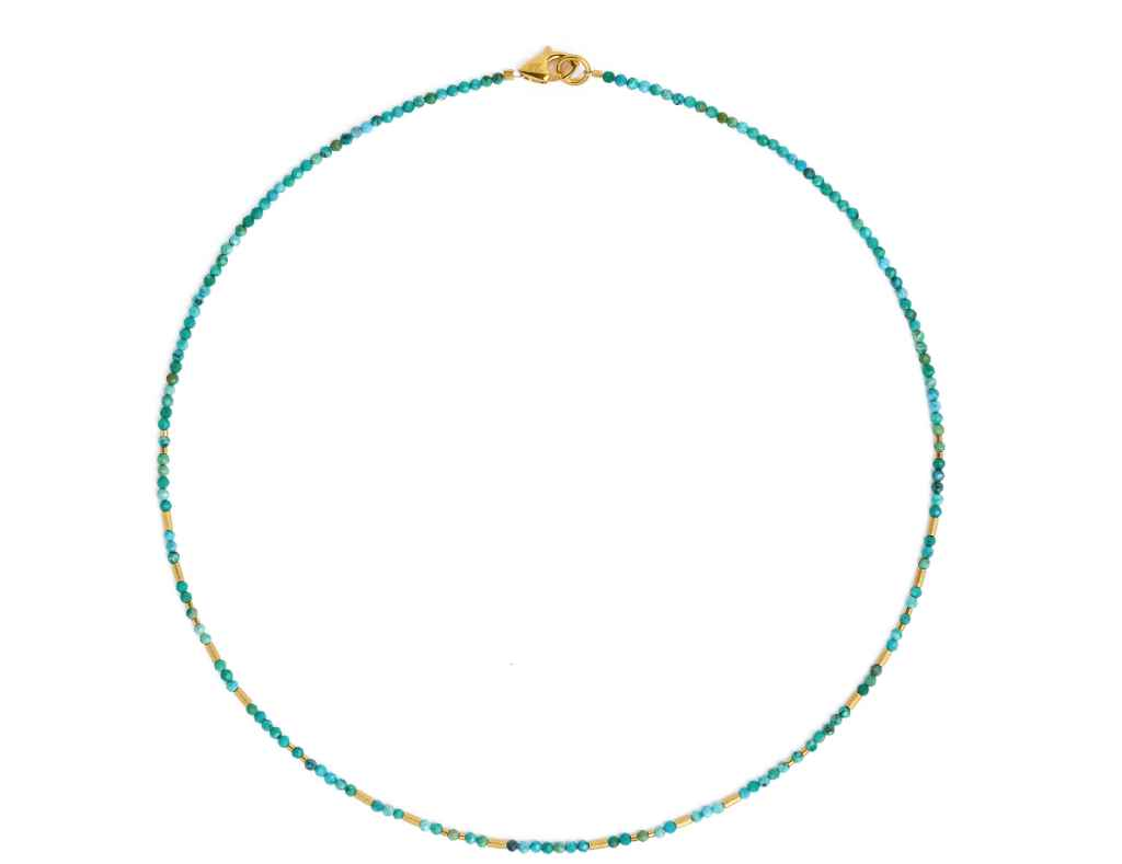 Tabaci Turquoise Neck... by  Bernd Wolf - Masterpiece Online