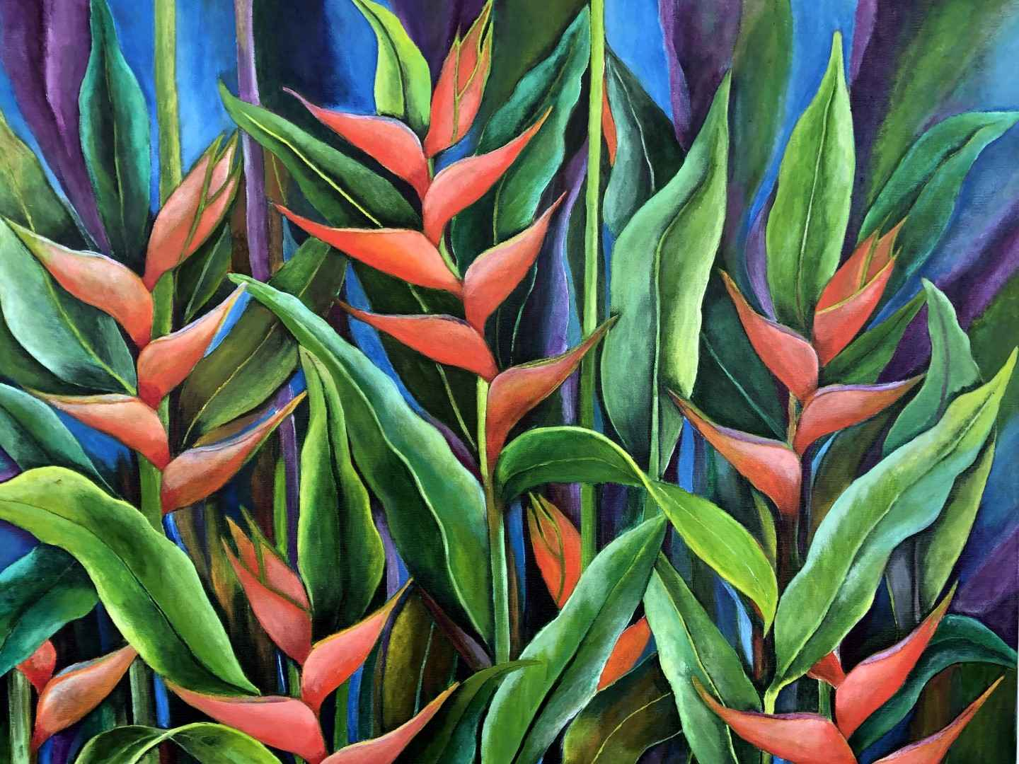 Heliconia In Bloom by  Sherry Frost - Masterpiece Online