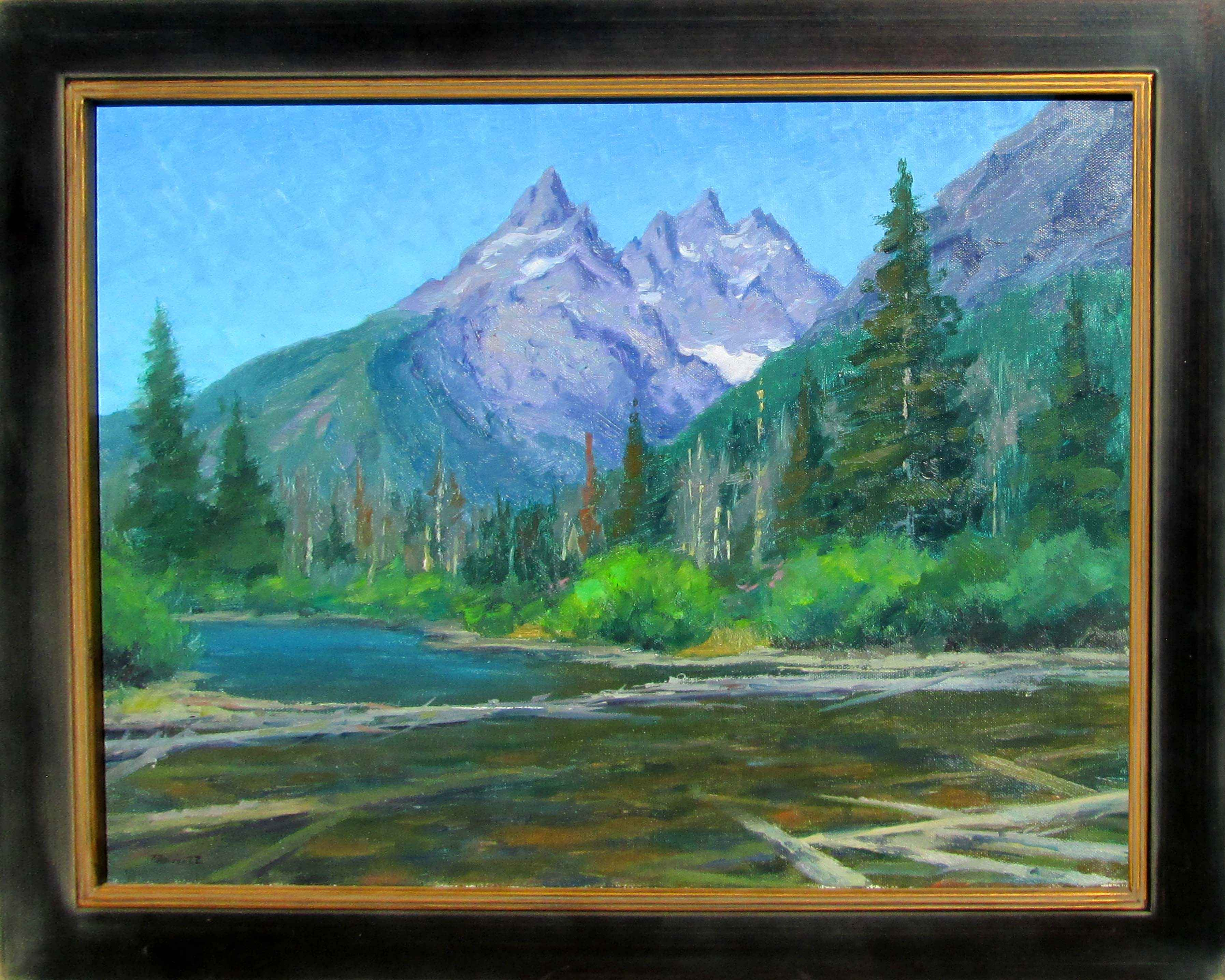 String Lake by  Gregg Russell - Masterpiece Online