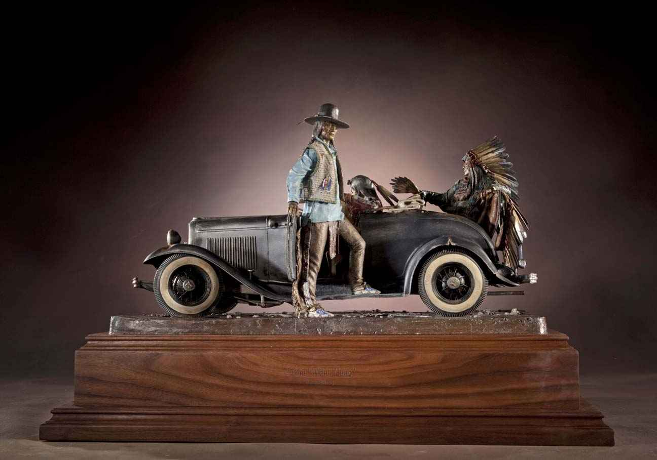 Pow Wow Limo  Masterw... by  Dave McGary 1958-2013 - Masterpiece Online