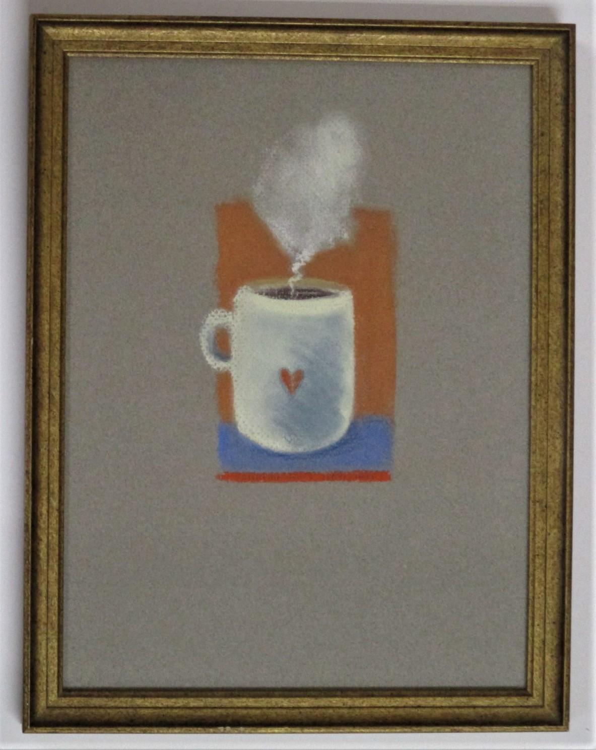 Valentine for a coffe... by  Liza Jones - Masterpiece Online