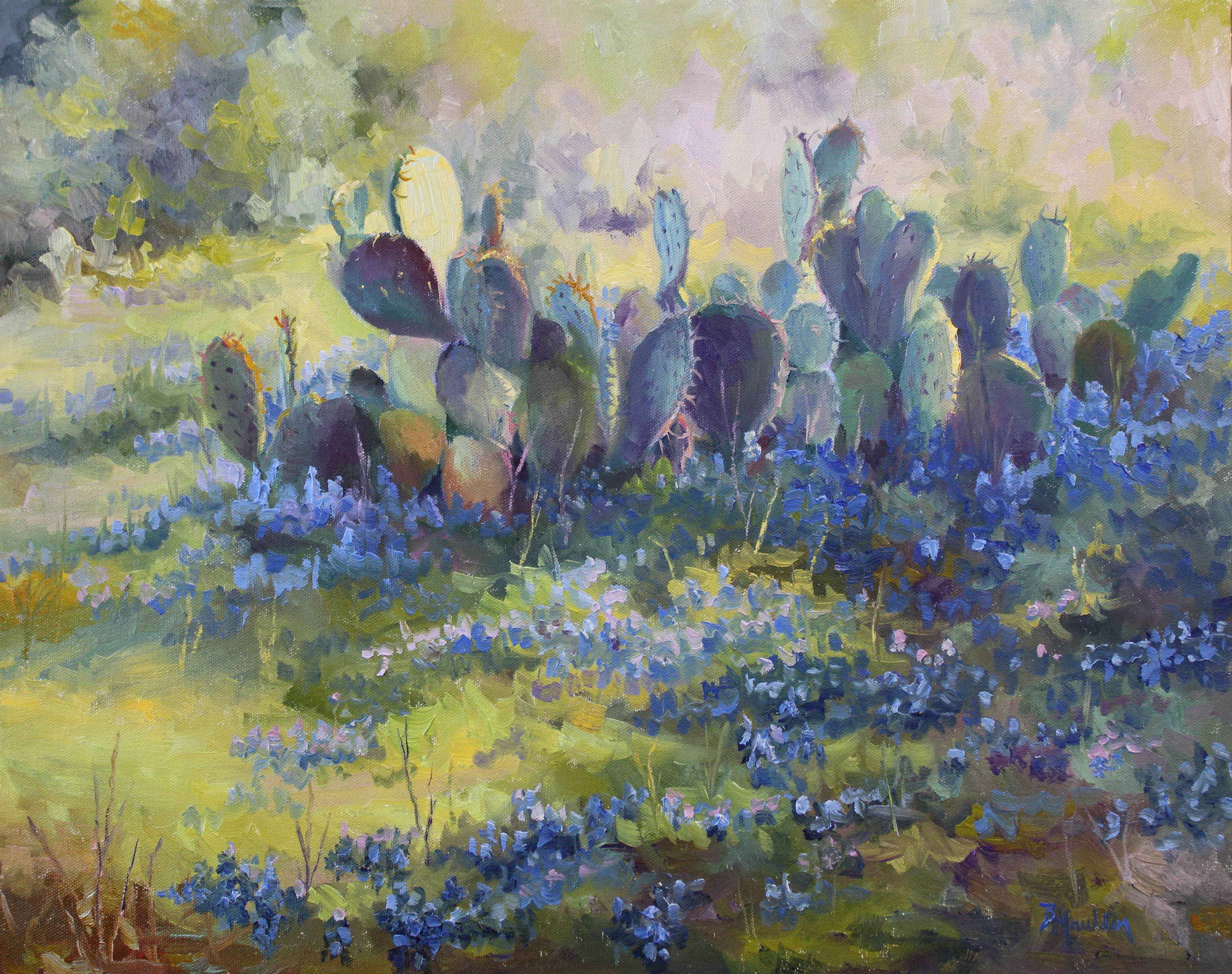 Cactus Blues by  Barbara Mauldin - Masterpiece Online