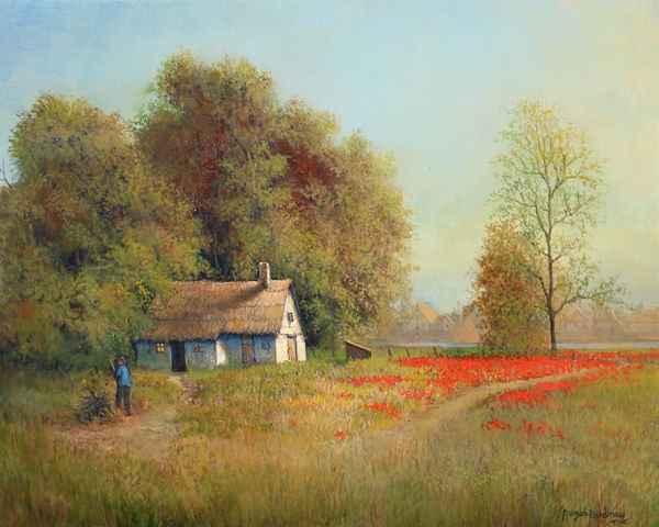 Peaceful Hideaway by  Roger  Budney - Masterpiece Online