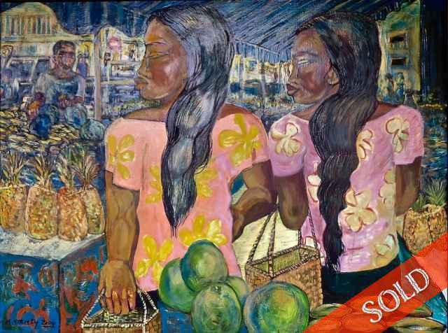 Market Day by  Avi Kiriaty - Masterpiece Online