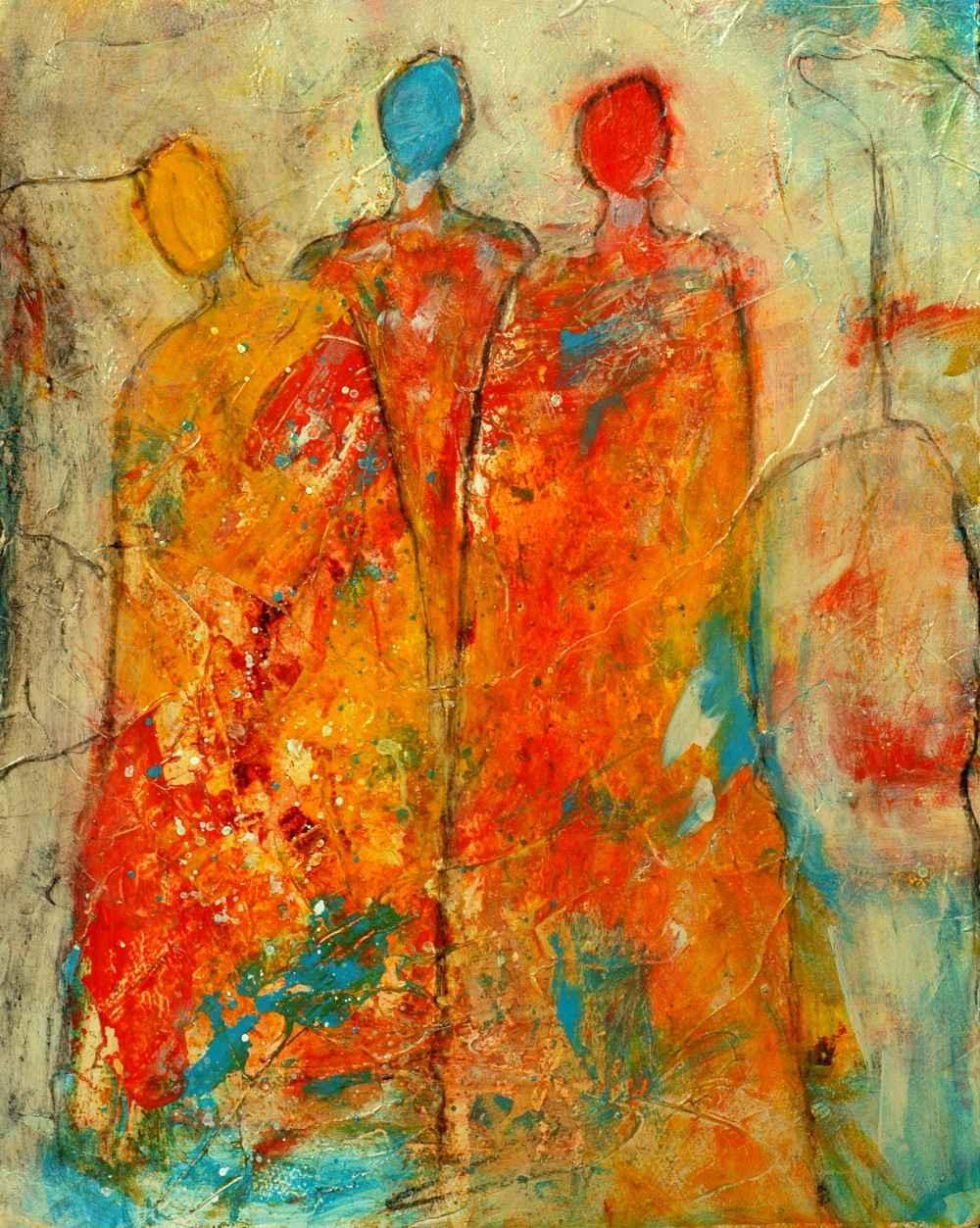 Mardi Gras  by  Sue Robertson