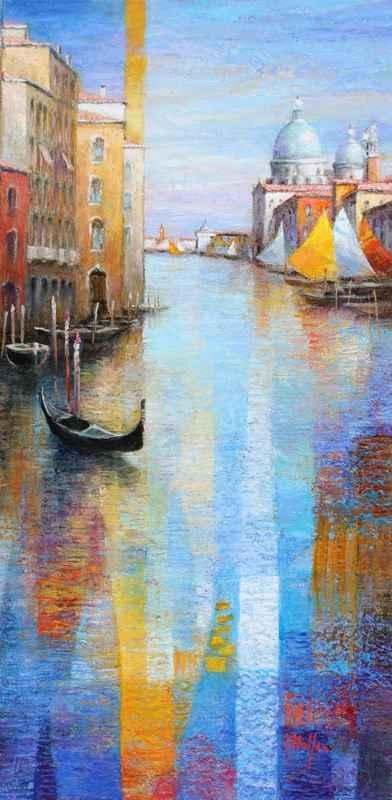 Venice by  Mario Malfer - Masterpiece Online