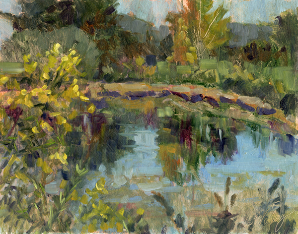 Rustic Pond by  Chris Willey - Masterpiece Online