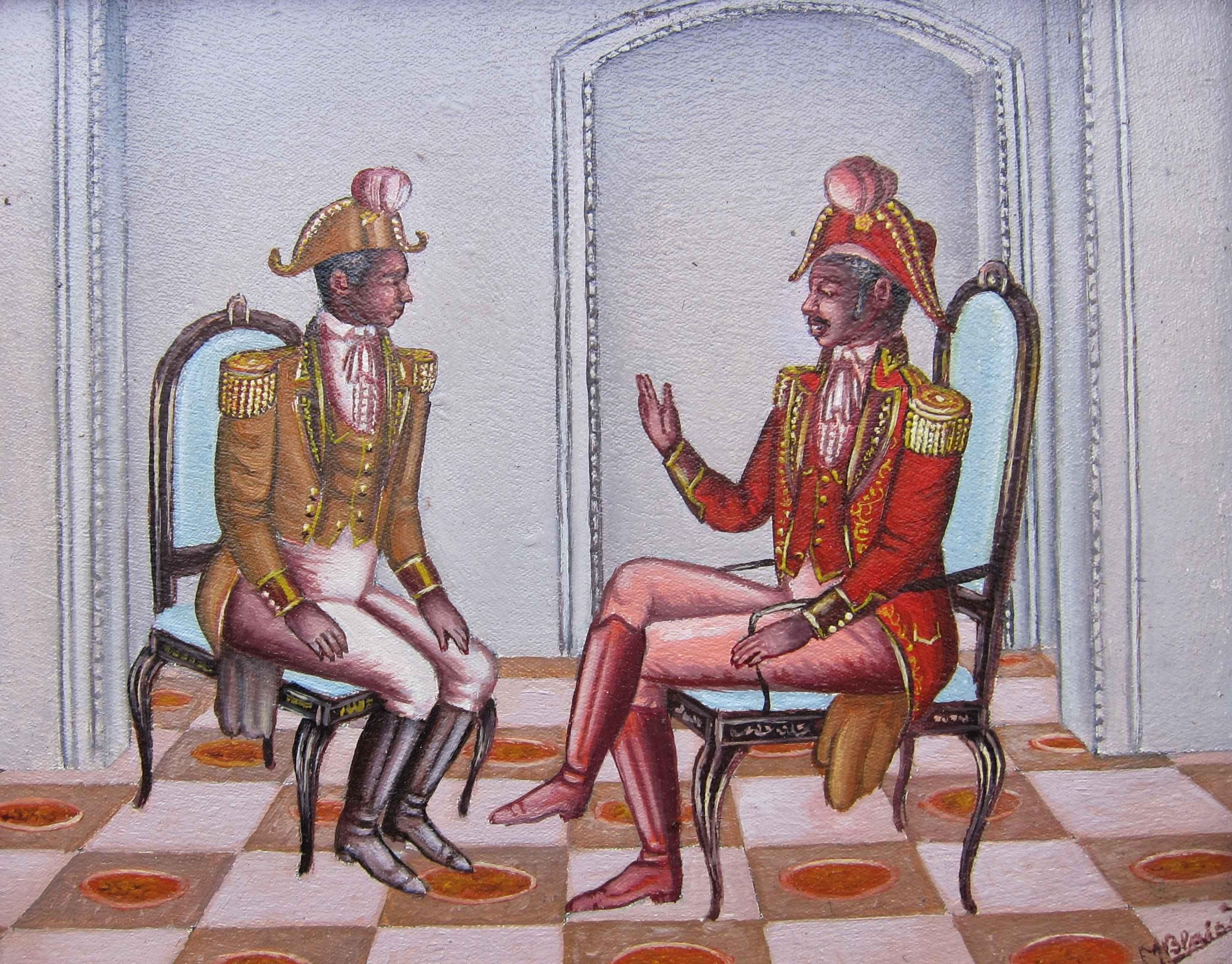 Dessalines et l'offic...  by  Serge Moleon BLAISE