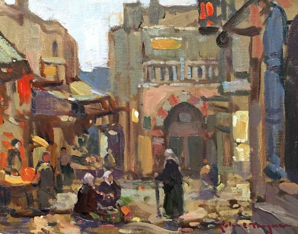Jerusalem Market  by  John C Traynor