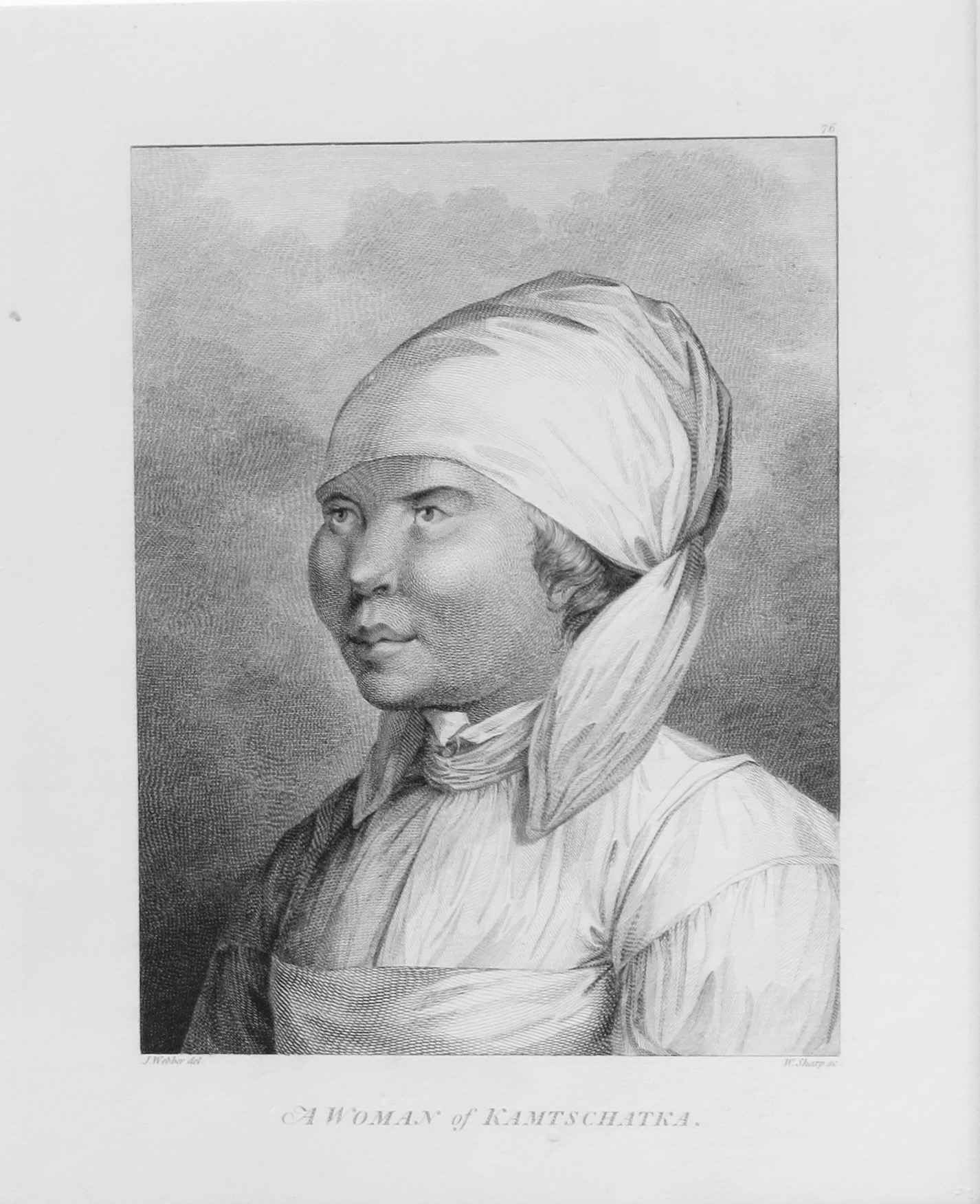 A Woman of Kamtschatka by  John Webber (1752-1793) - Masterpiece Online