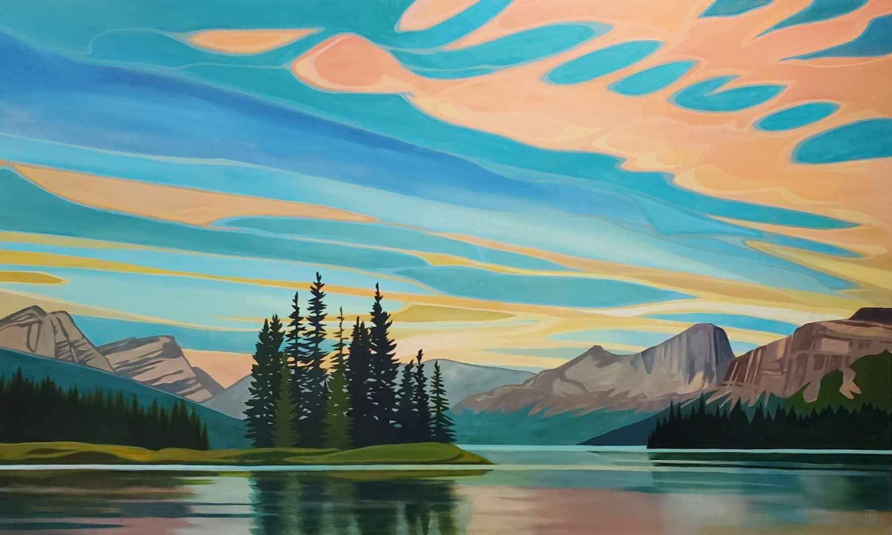 Spirit Island Reflect... by  Erica Hawkes - Masterpiece Online