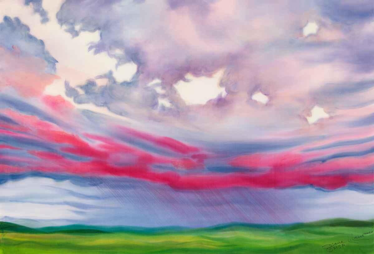 Gentle Rain  by  Diane Lawrence