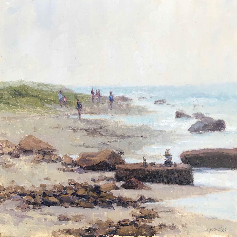 Beach Walk by  Elise Phillips - Masterpiece Online