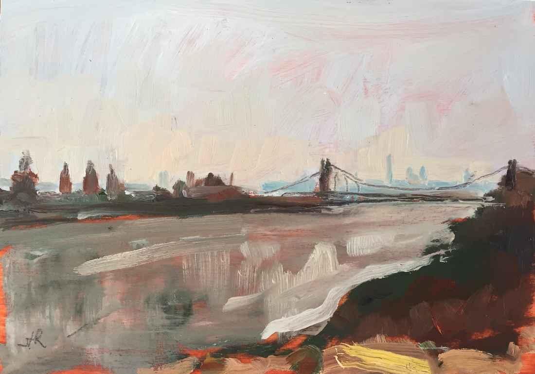 Hudson View by  Stephanie Reiter - Masterpiece Online
