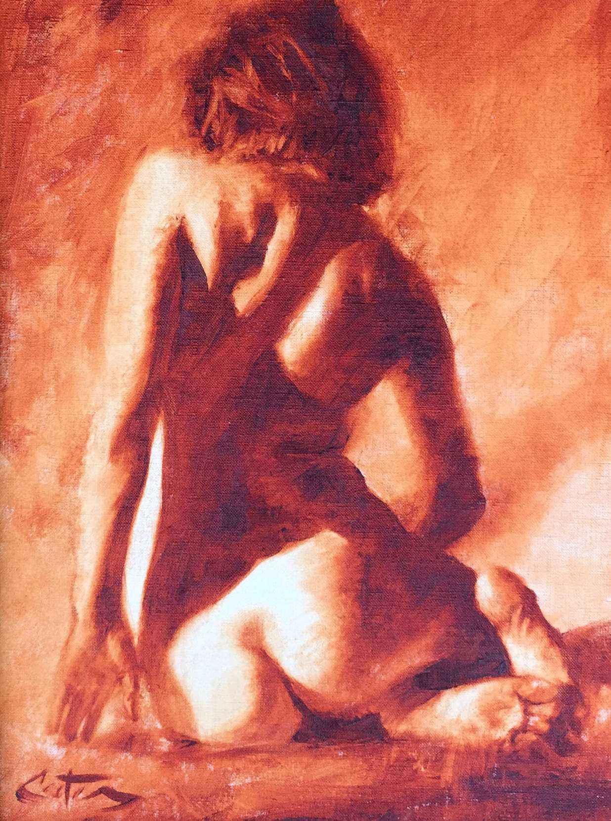 Sienna Nude by Mr Mitch Caster - Masterpiece Online