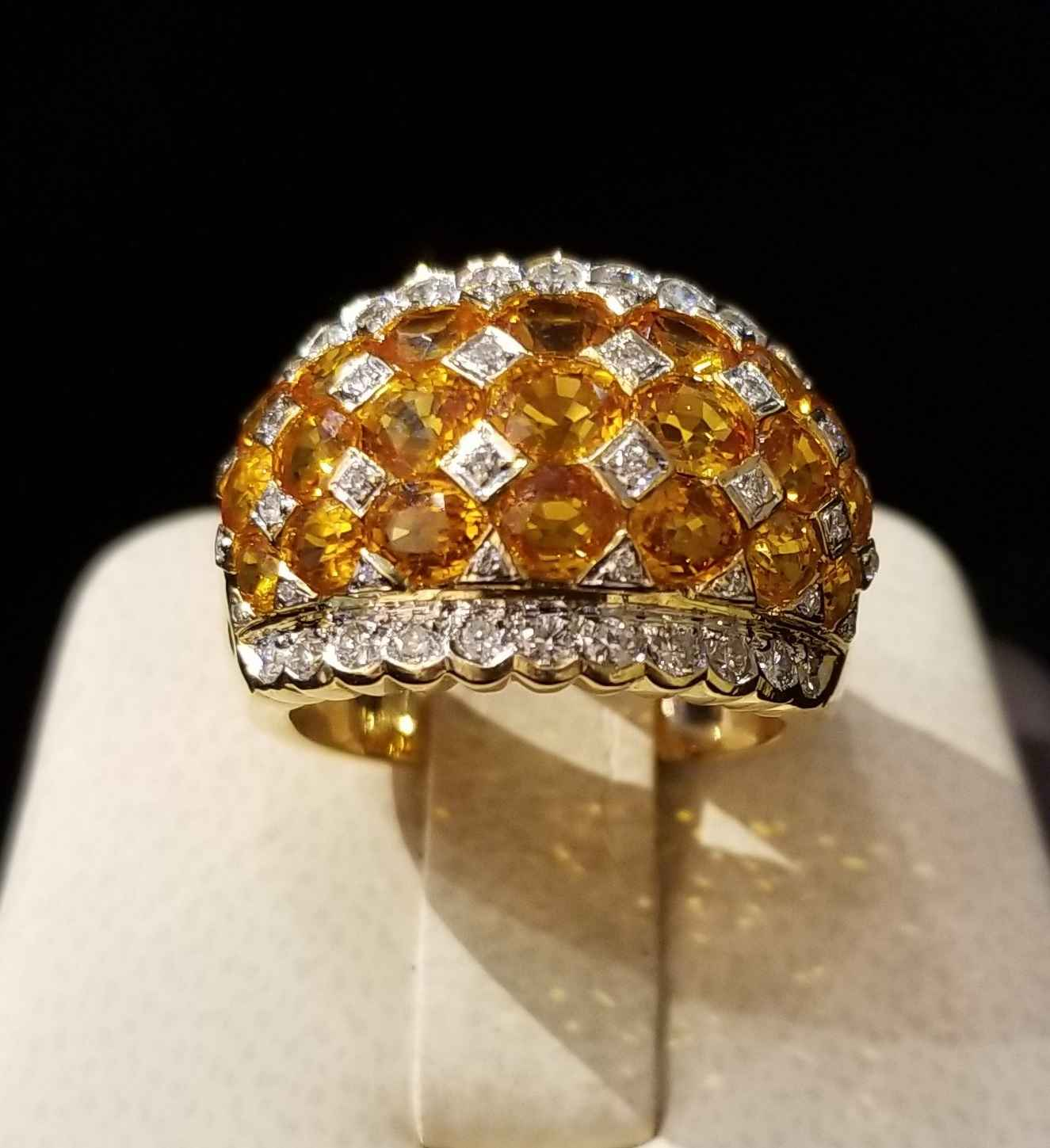 Yellow Sapphire Ring ... by  My Jeweler - Masterpiece Online