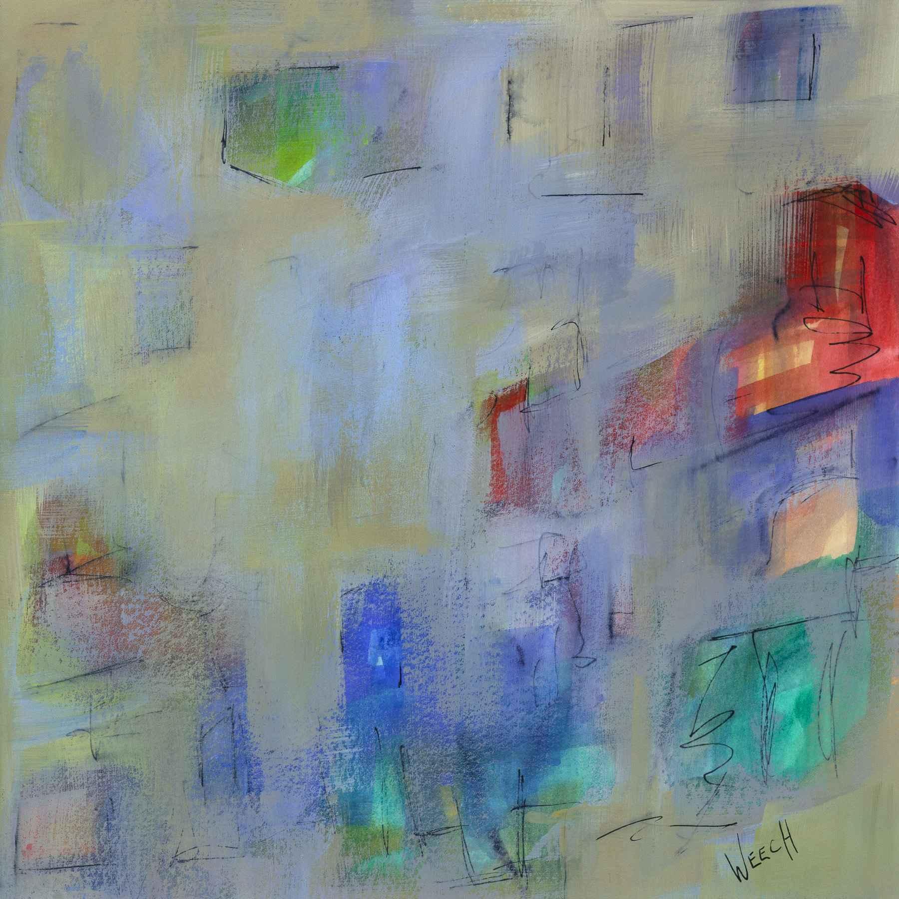 City Rhythm III by  Paula Weech - Masterpiece Online