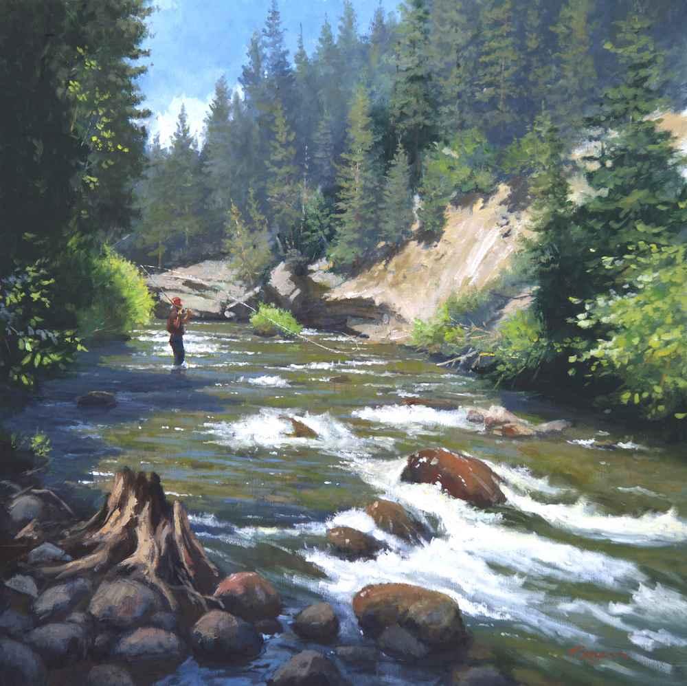 Rattlesnake Creek  by  Richard Boyer