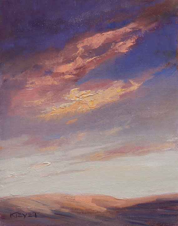 Clouds Over John Day represented by  by  Fran Kievet