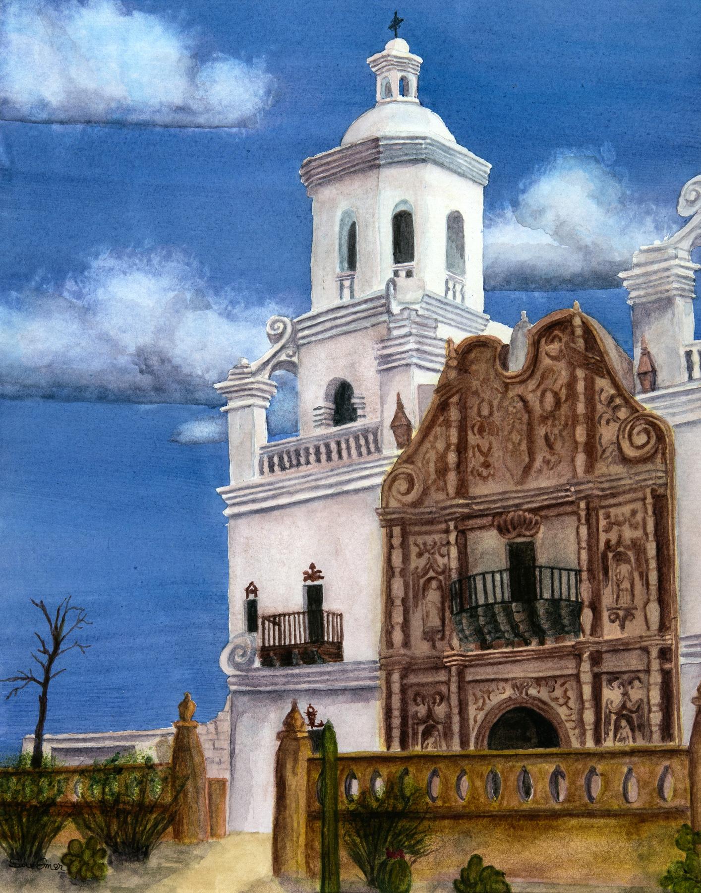 Mission San Xavier by  Sue Emer - Masterpiece Online