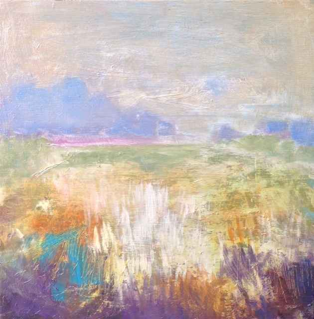 Morning Field by  Carol Finkbeiner Thomas - Masterpiece Online