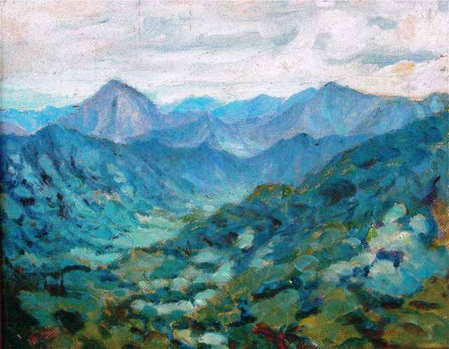 Above the Old Sugar M... by  Shirley Russell (1886-1985) - Masterpiece Online
