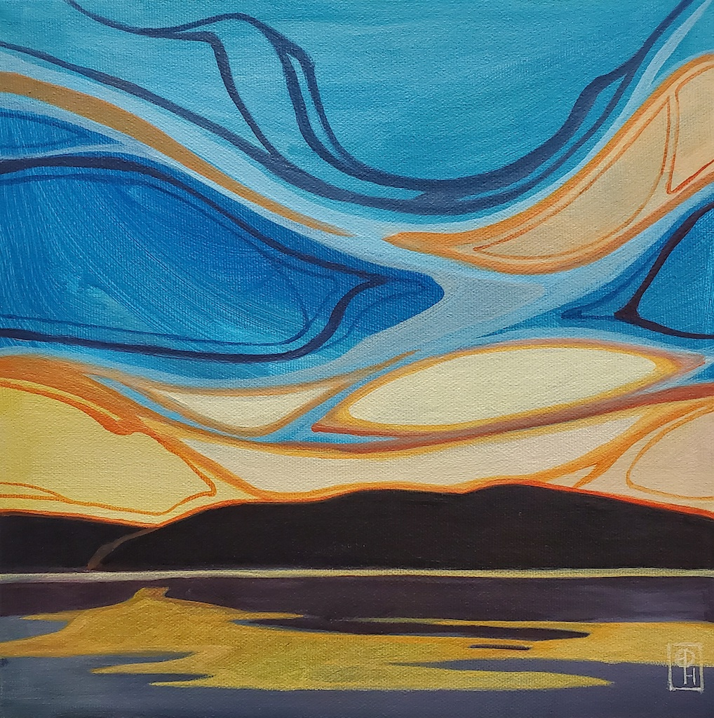 Blue Down by  Erica Hawkes - Masterpiece Online