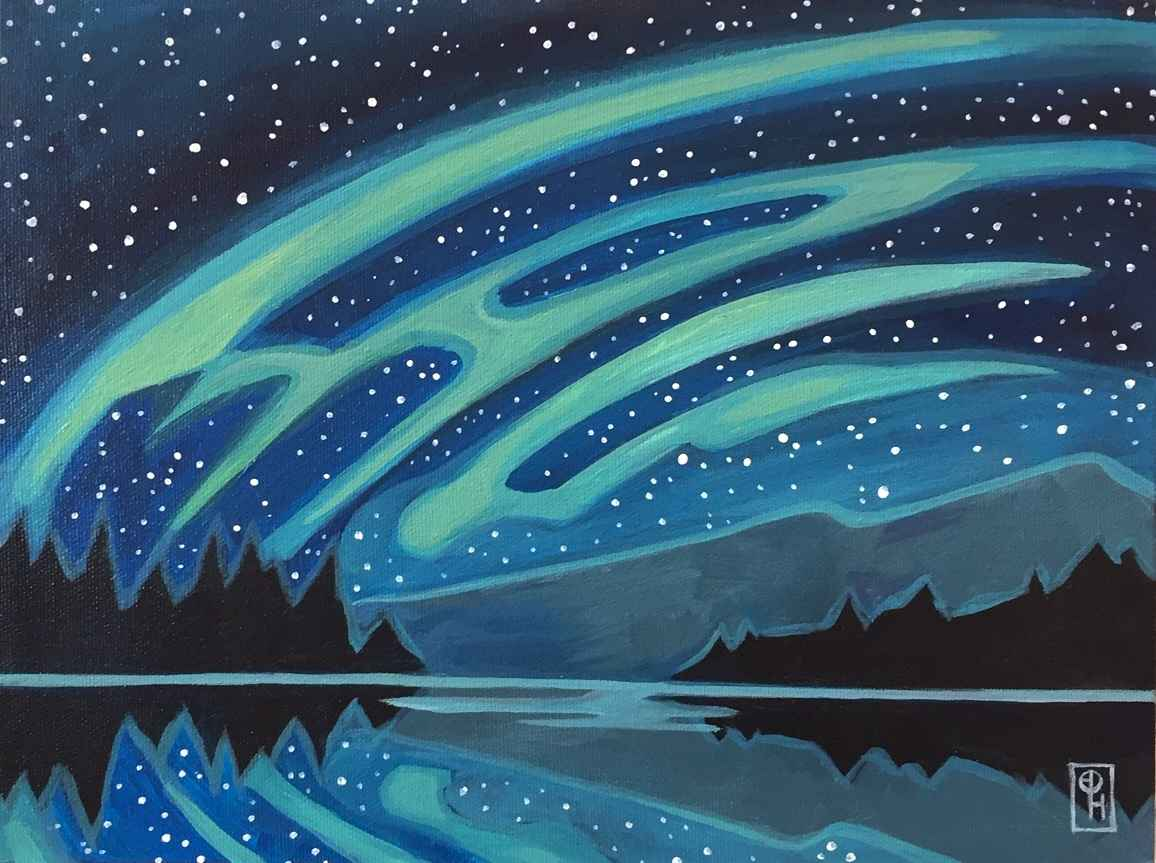 Silent Night III by  Erica Hawkes - Masterpiece Online