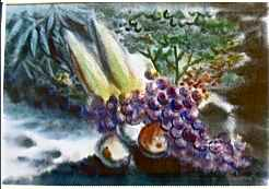 Still Life Fruits by  Hon Chew Hee (1906-1993) - Masterpiece Online