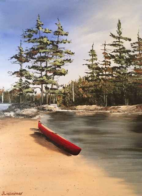 By the Water's Edge by  Janet Liesemer - Masterpiece Online