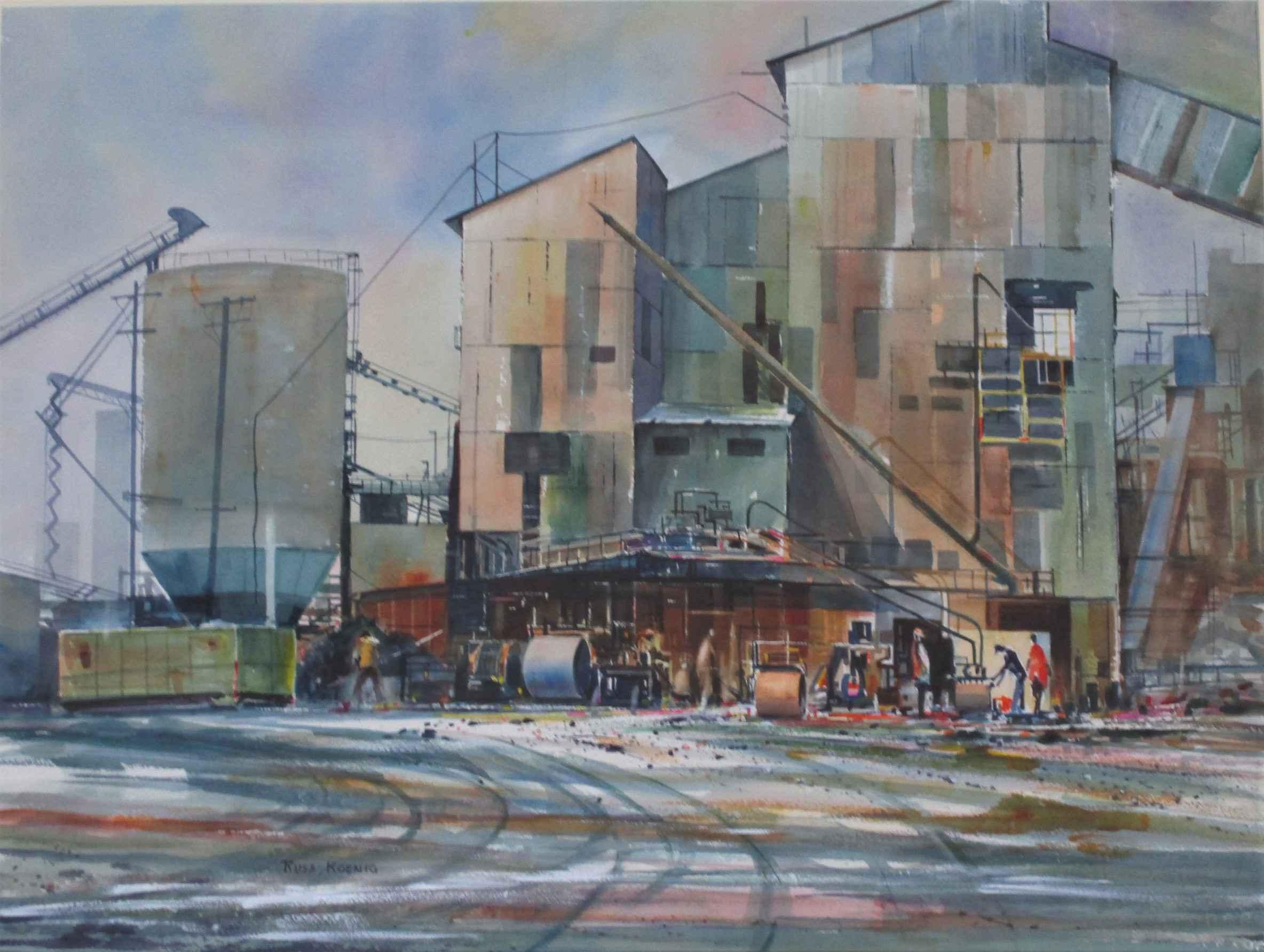 Unknown NW Industrial by  Russ Koenig - Masterpiece Online