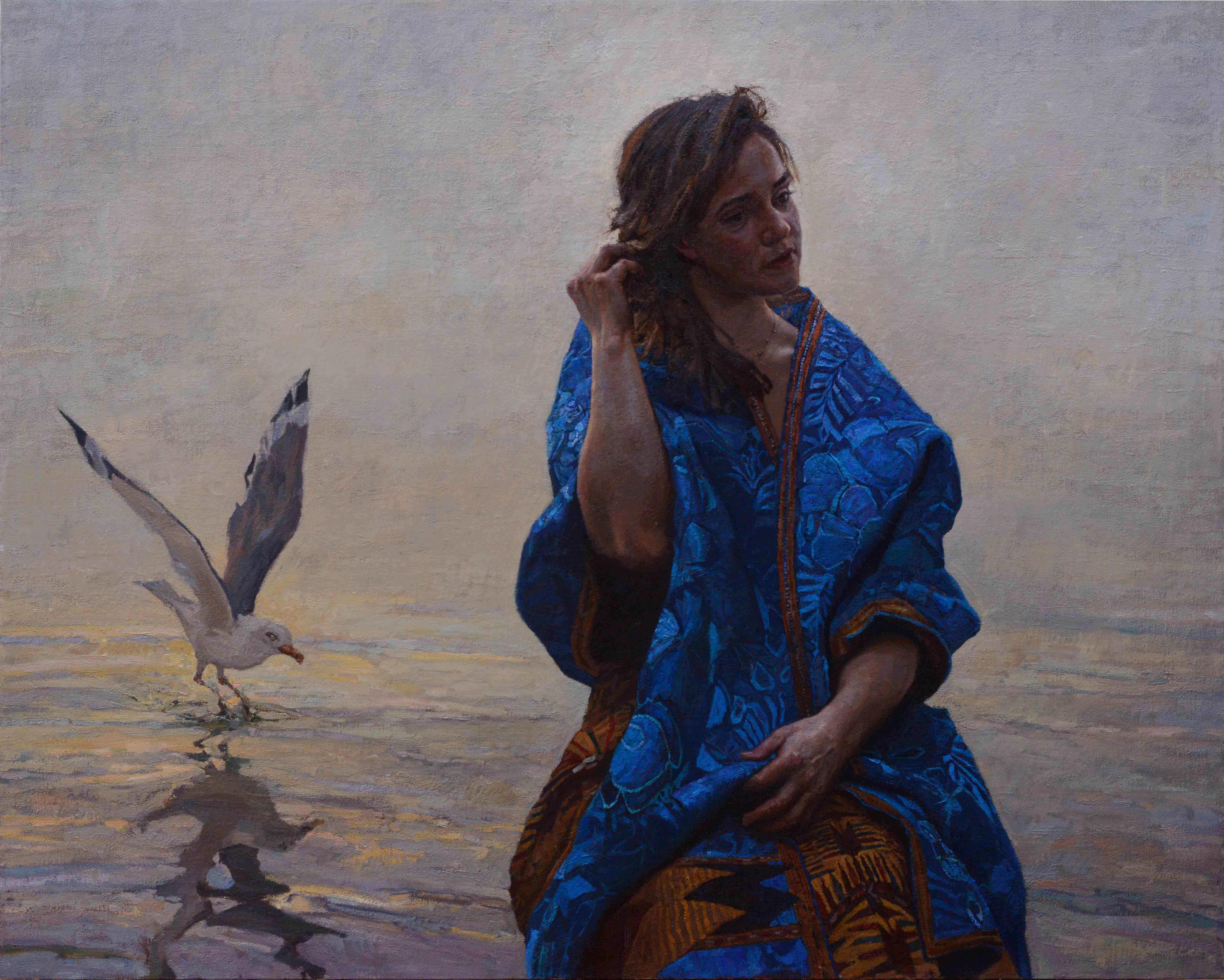 Beginning (oil) by  Daud Akhriev - Masterpiece Online