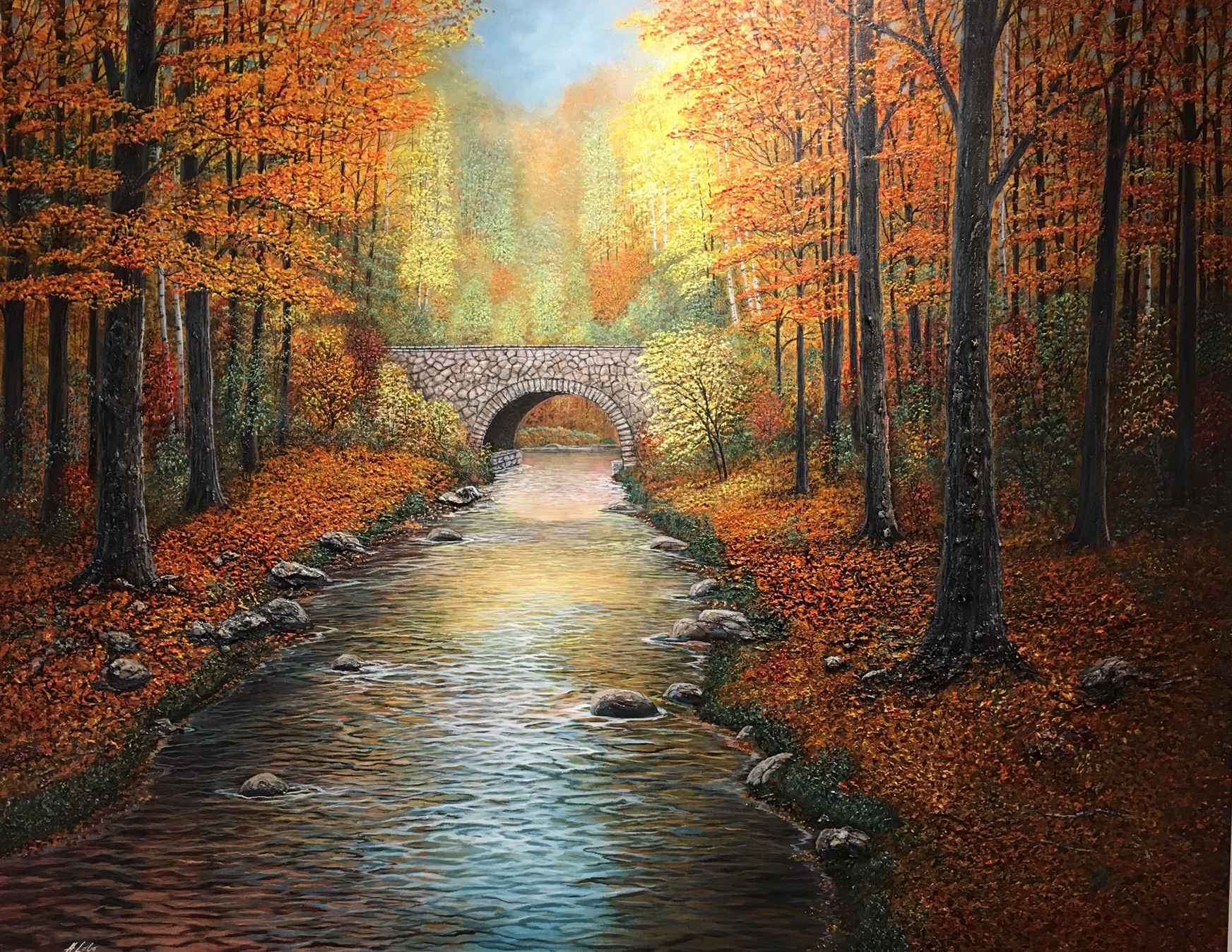 Colours Around the Br... by  Henry Lobo - Masterpiece Online