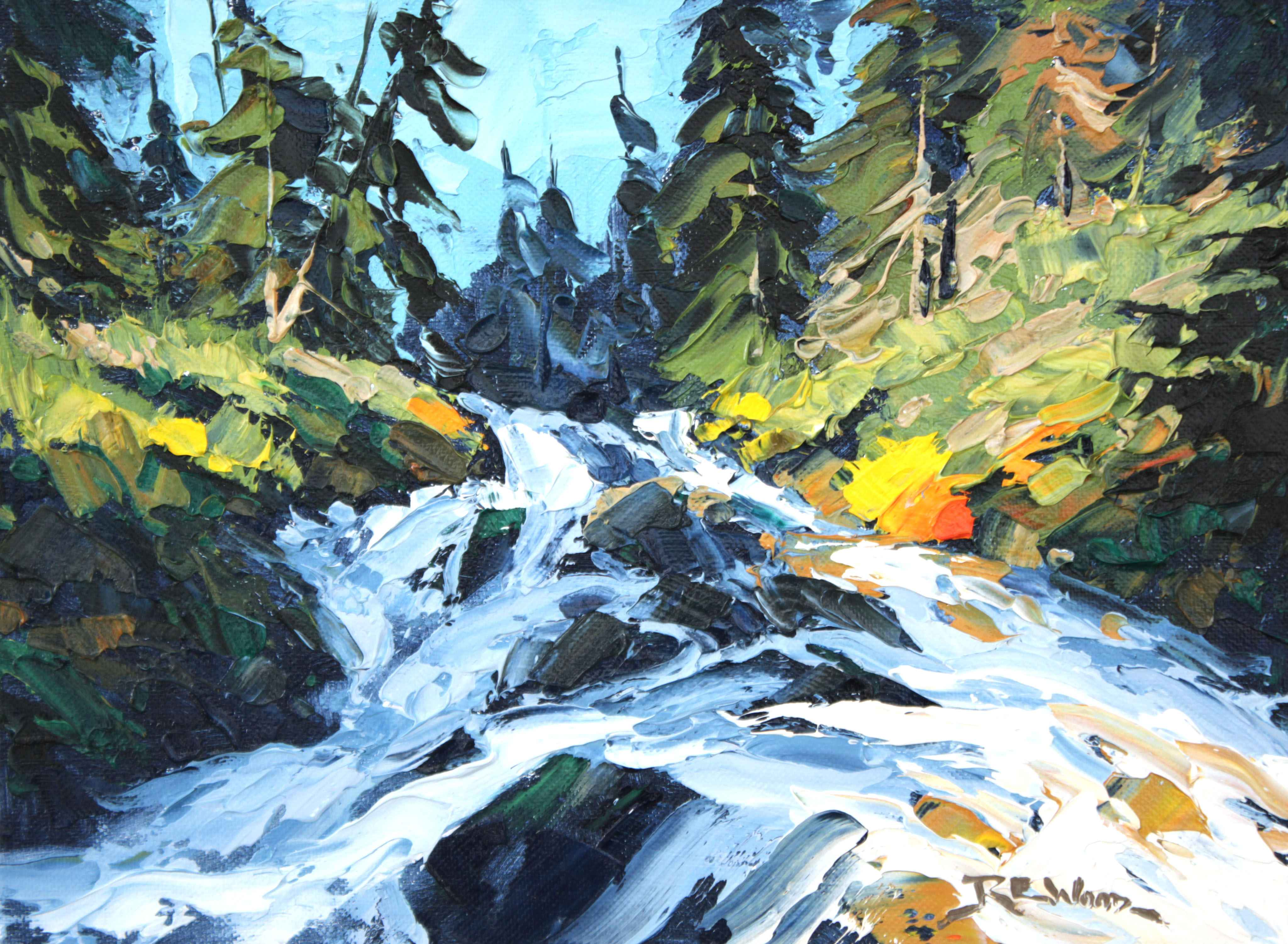 Commonwealth Creek by  Robert E. Wood - Masterpiece Online