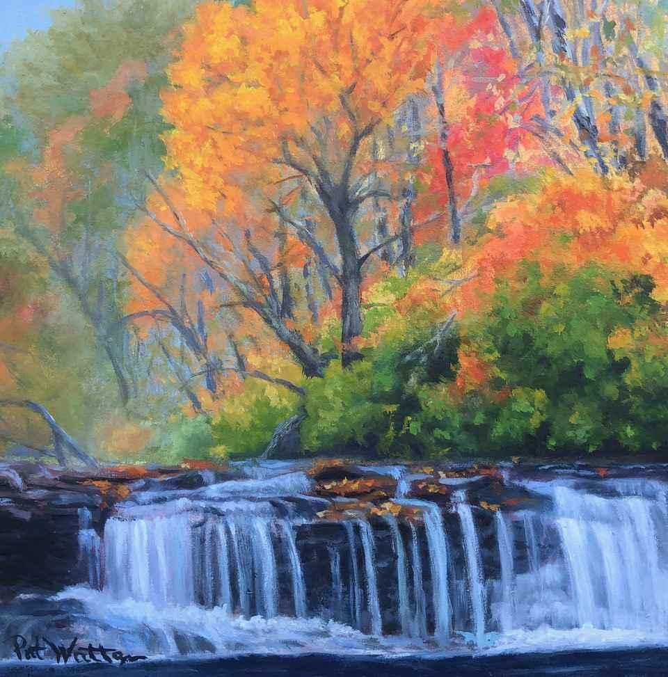 Autumn Leaves by  Pat Wattam - Masterpiece Online