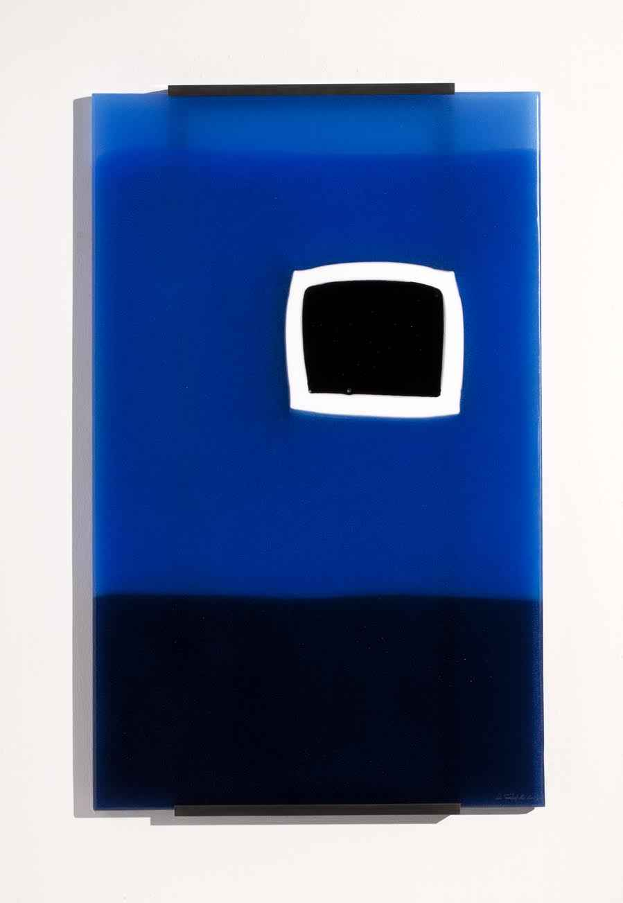La Porta Blu In Campo  by  Lino Tagliapietra