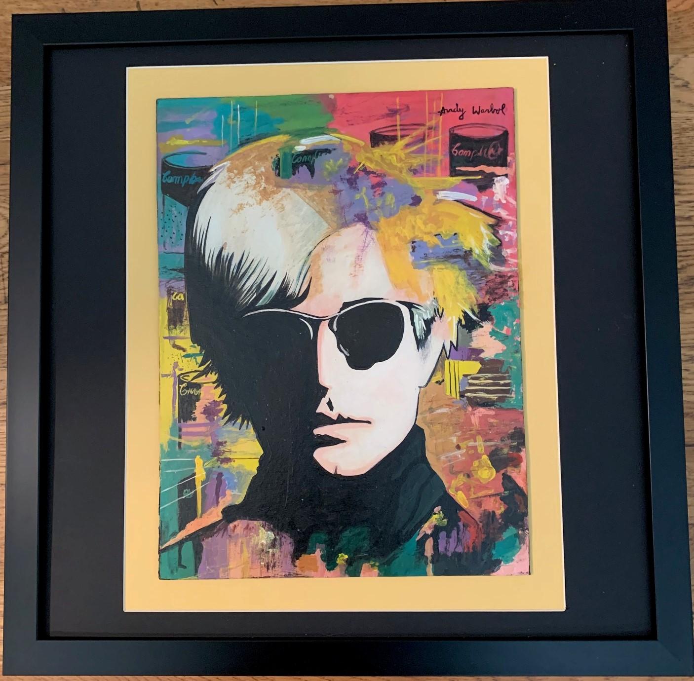 Andy Warhol Portrait by  Andy Warhol - Masterpiece Online