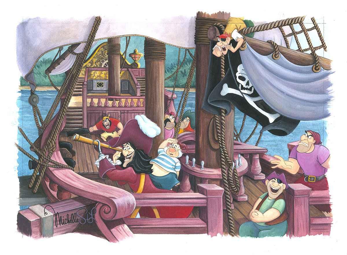 All Hands On Deck by  Michelle St. Laurent - Masterpiece Online