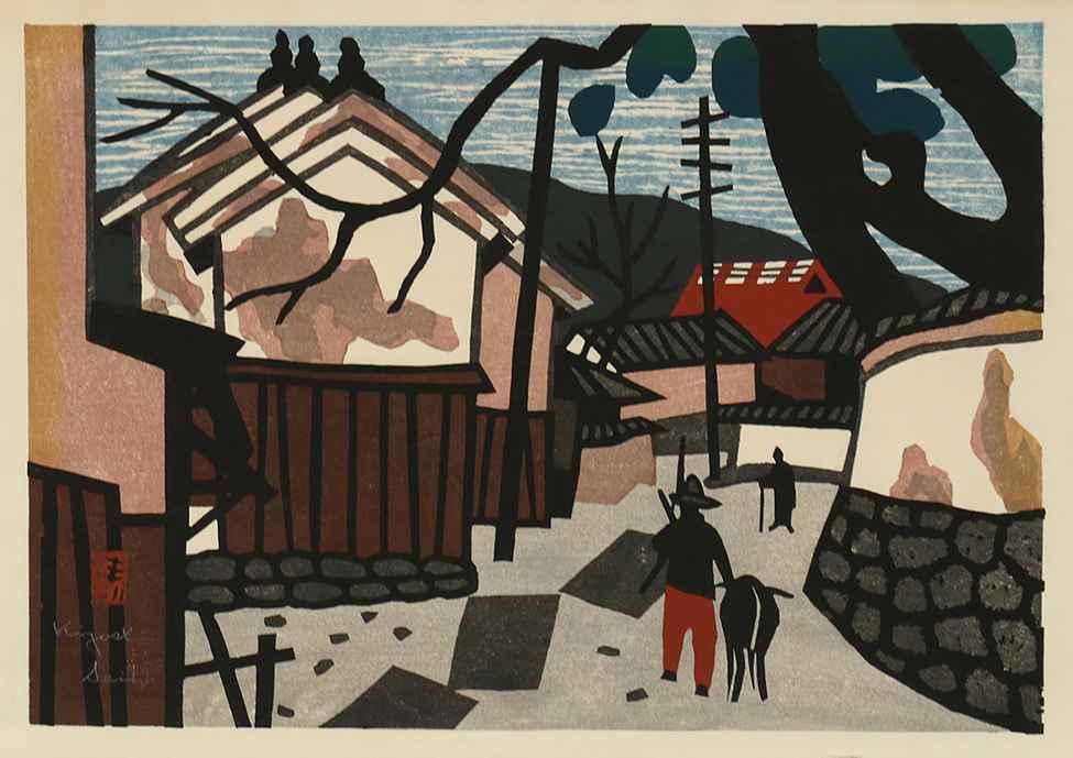 Summer in Aizu by  Kiyoshi Saito - Masterpiece Online