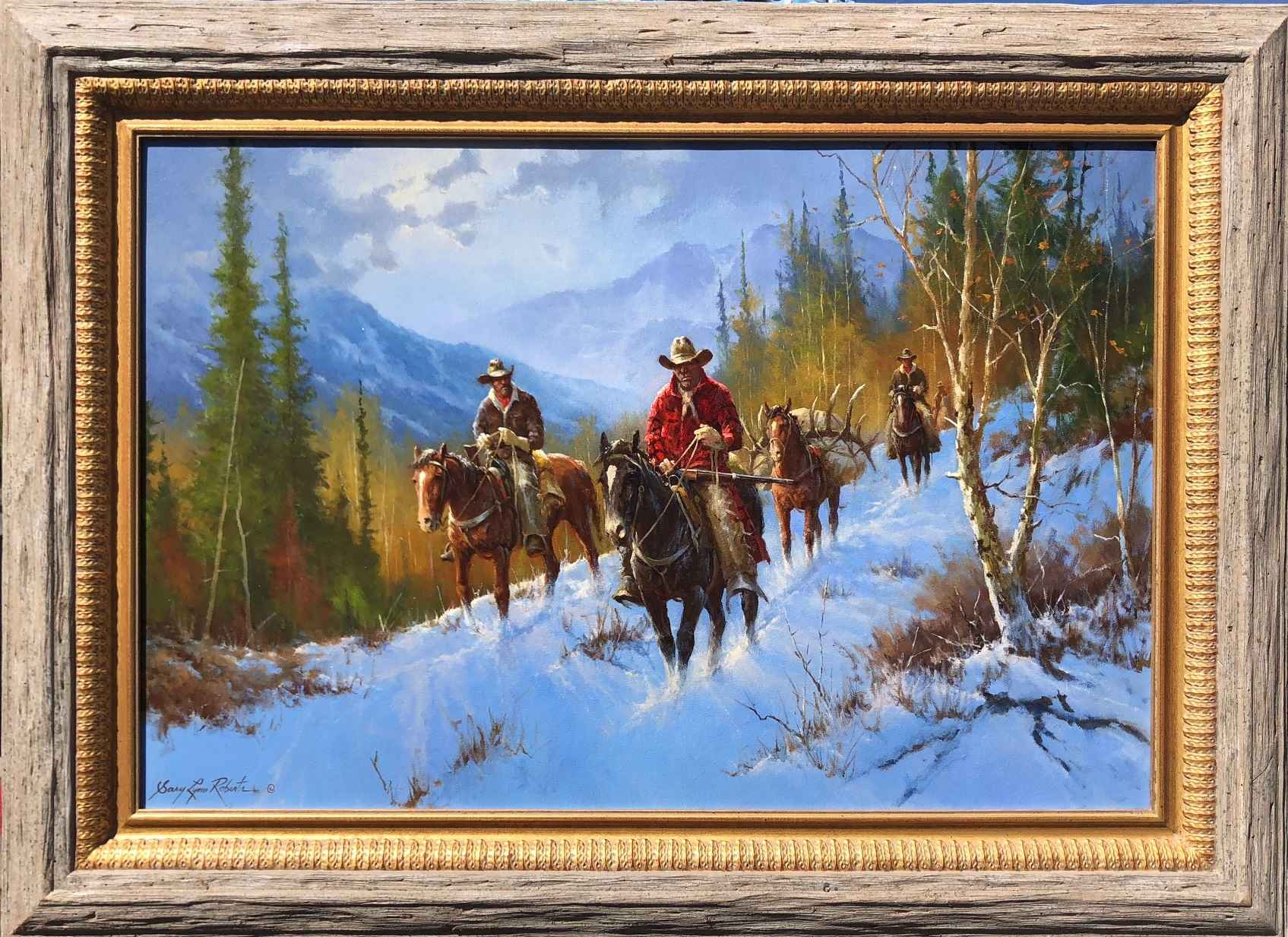The Outfitter by  Gary Lynn Roberts - Masterpiece Online