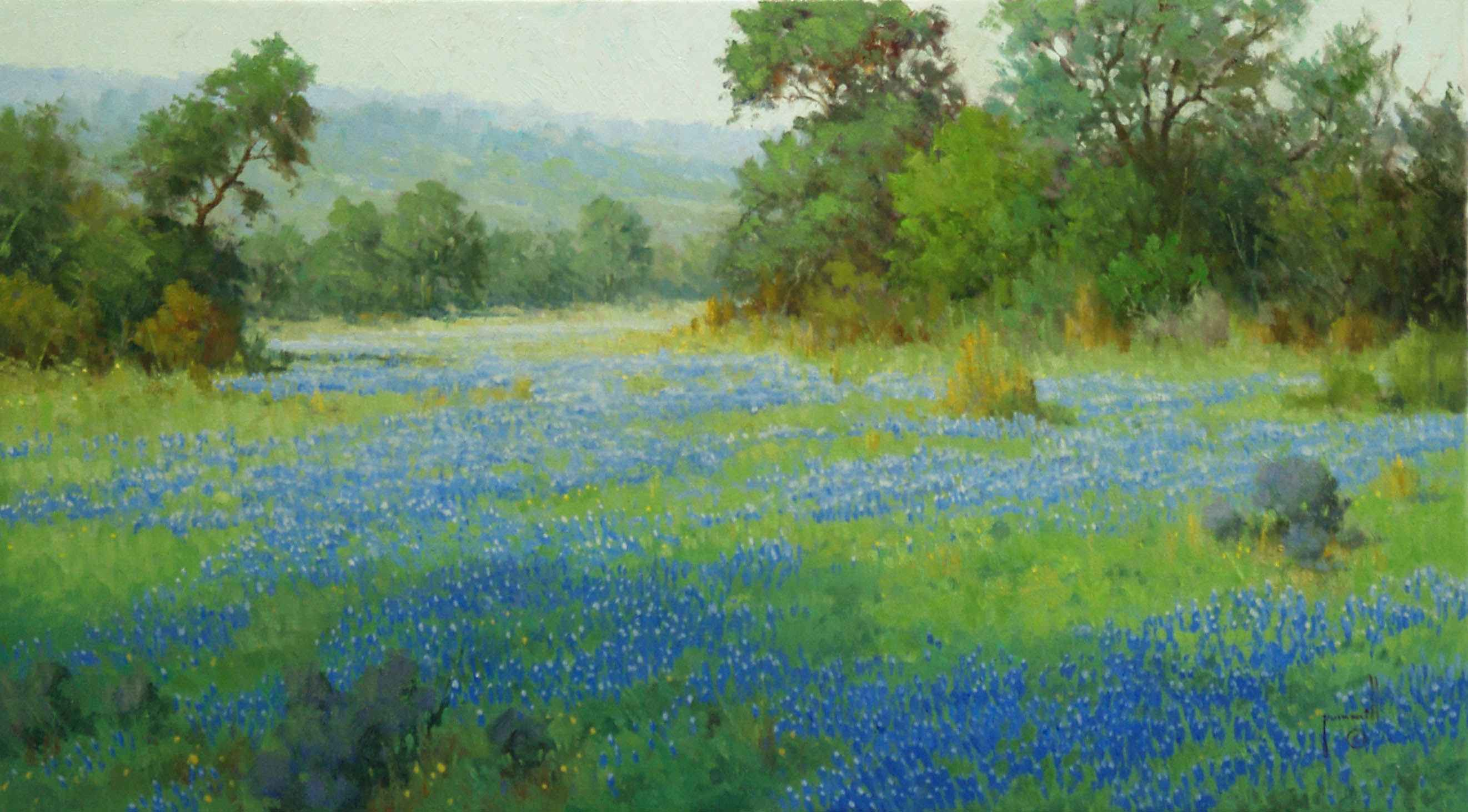 A Hill Country Meadow by Mr. & Mrs. Robert Pummill - Masterpiece Online