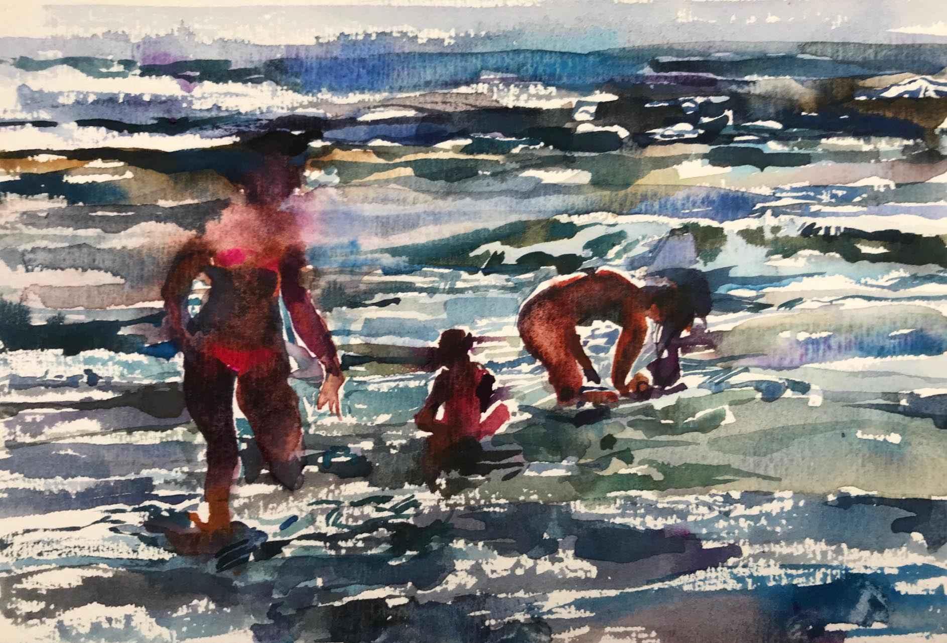 Beach Series VI by  Daud Akhriev - Masterpiece Online