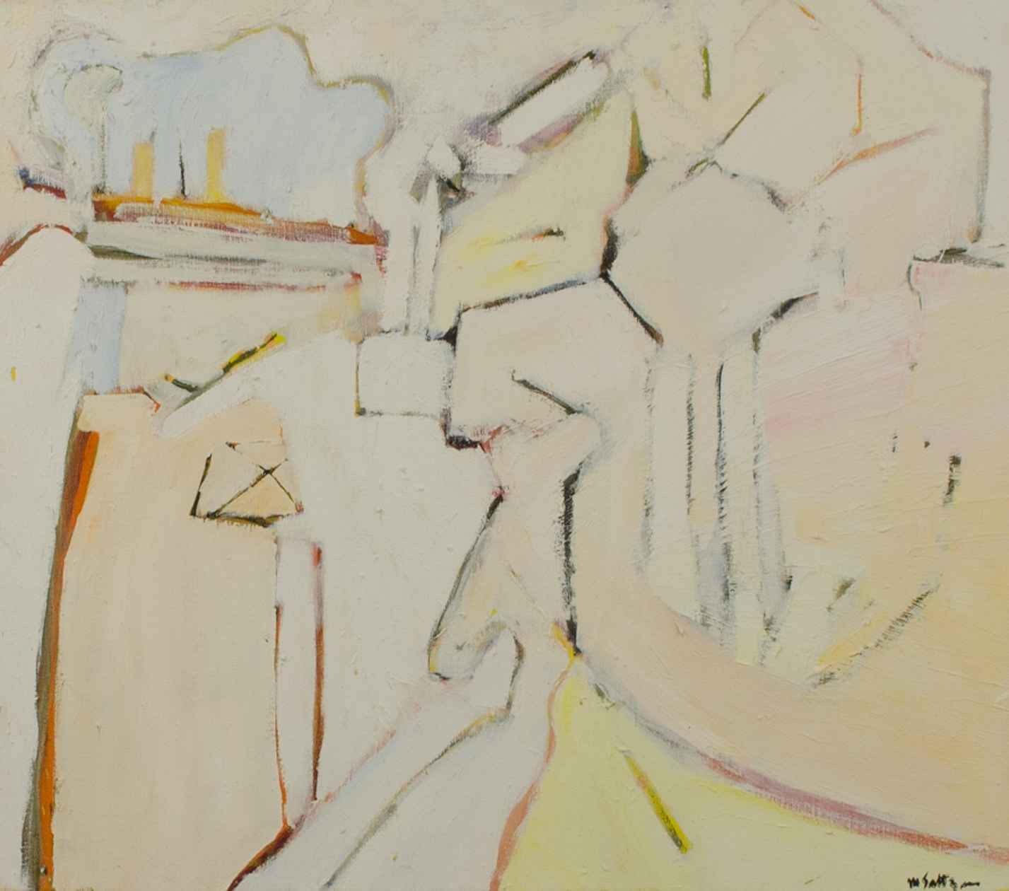 WHITE-OUTS 1970'S -NU... by  Marvin Saltzman - Masterpiece Online