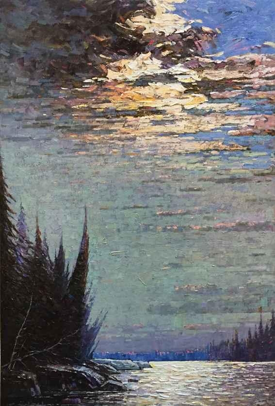 Shimmering Moonlight by  Jack Zhou - Masterpiece Online