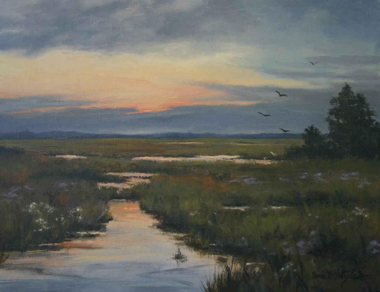 Evening Serenade by  Paula Holtzclaw - Masterpiece Online